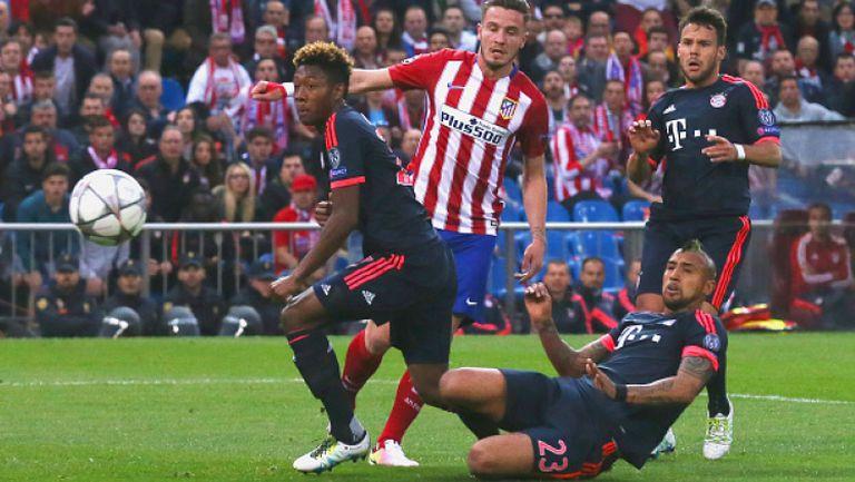 Атлетико Мадрид - Байерн (Мюнхен) 1:0