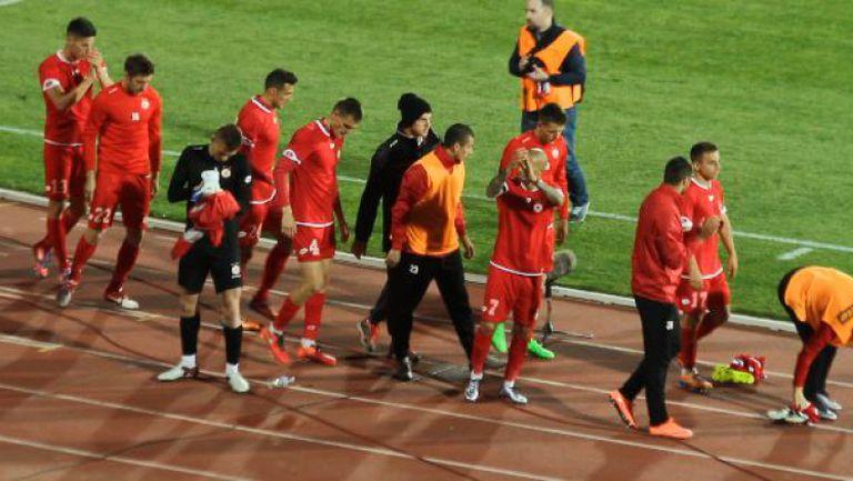Аплодисменти дори след равенството за ЦСКА