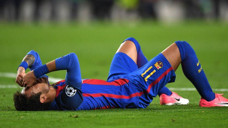 Няма да има заседание за Неймар, бразилецът няма да играе