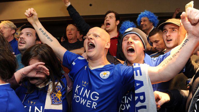 Страхотна радост за феновете на Лестър след края на Челси - Тотнъм