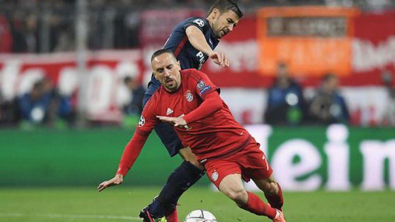 Байерн (Мюнхен) - Атлетико (Мадрид) 2:1 (2:2)