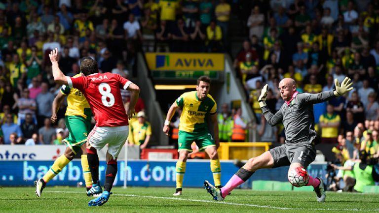 Норич - Манчестър Юнайтед 0:1