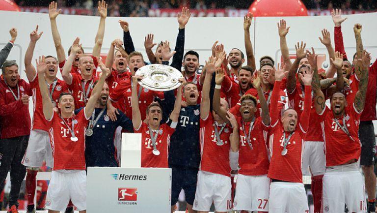 Байерн вдигна 26-та титла на Германия