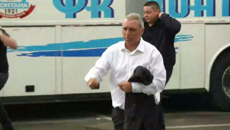 "Христо Стоичков вече е на стадион ""Васил Левски"""