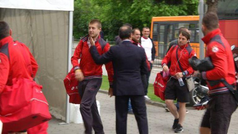 ЦСКА пристигна на финала за Купата на България