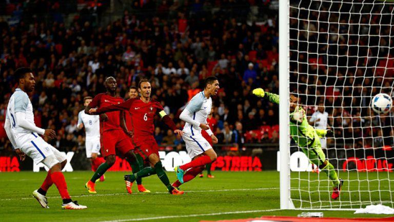 Англия - Португалия 1:0