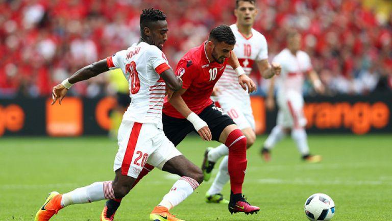 Албания - Швейцария 0:1