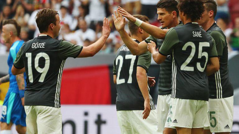 Германия - Украйна 2:0
