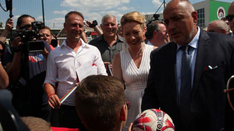 Борисов за ЦСКА: Бих дал и 20 милиона, за да се радват феновете
