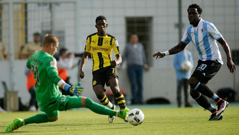 Мюнхен 1860 - Борусия (Дортмунд) 1:0