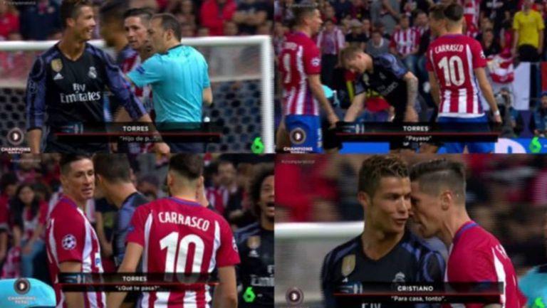 Торес и Роналдо се обиждат на клоун, глупак и кучи син