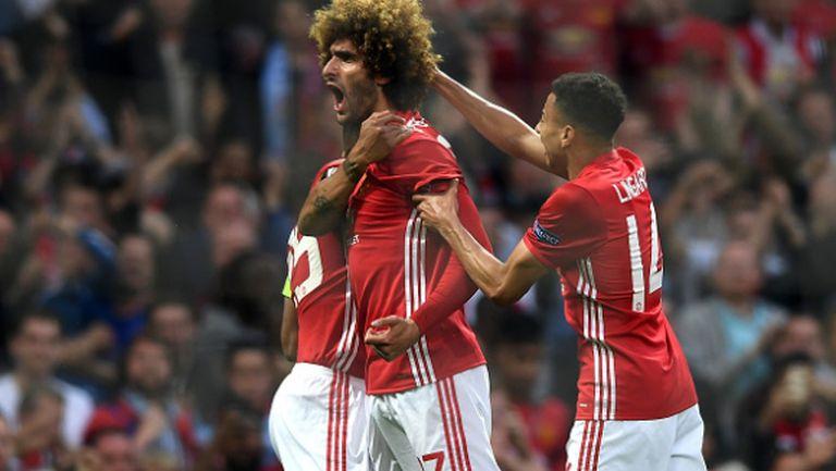 Високомерен Ман Юнайтед едва се промъкна до финала в Лига Европа (видео)