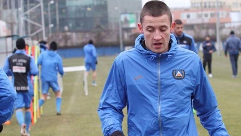 Левски поздрави Алекс Боримиров