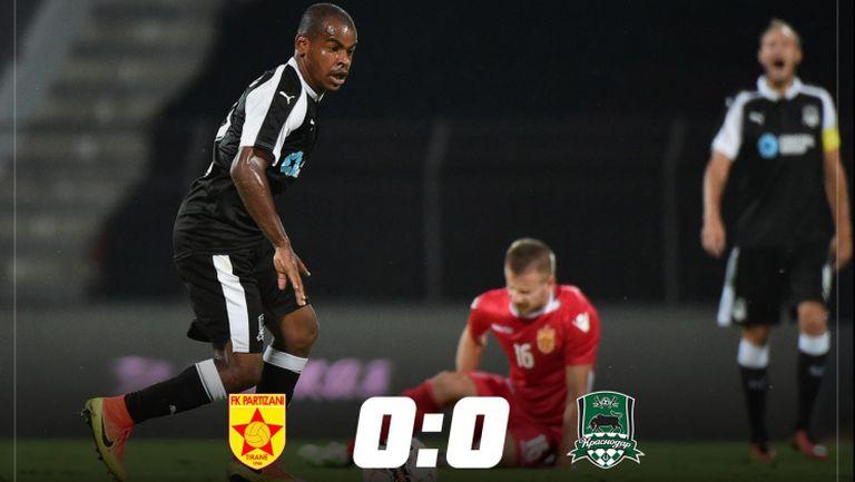 Партизани (Тирана) - Краснодар 0:0
