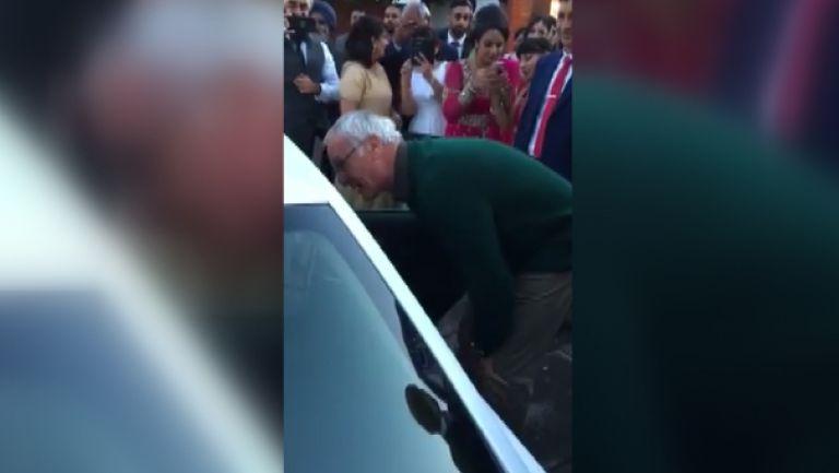 Уникален жест! Клаудио Раниери поздрави съседите си за тяхната сватба