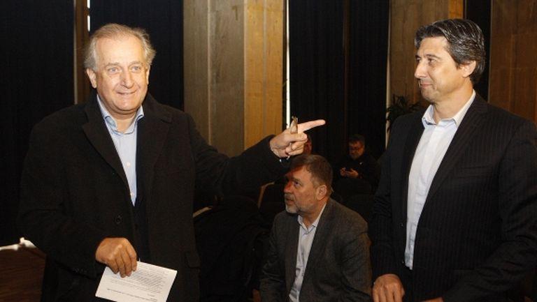 Спас Русев и Домусчиев на съвместно мероприятие