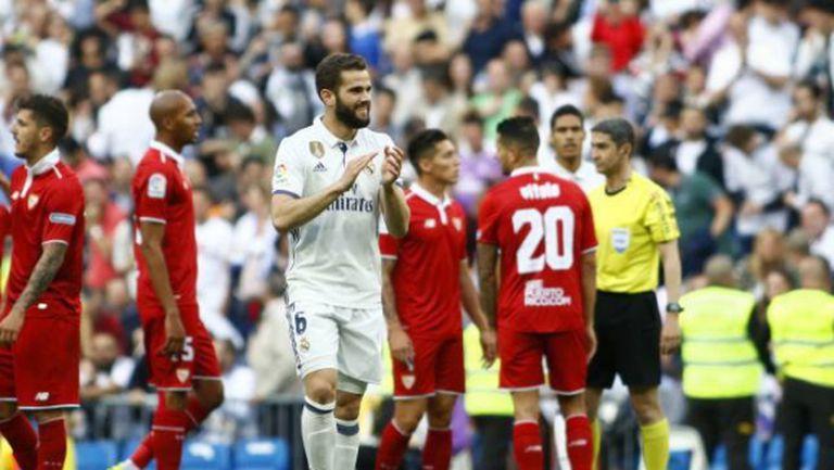 Реал М взе в групата наказан футболист