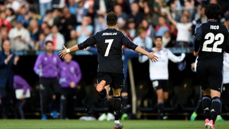 Безапелационен Реал Мадрид вече е на милиметри от титлата (видео)