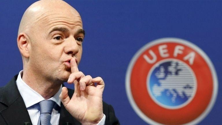 Президентът на ФИФА с писмо до БФС за титлата на Лудогорец