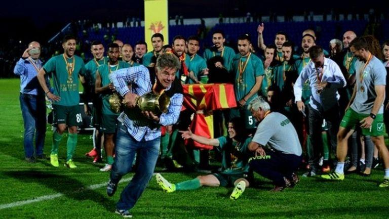 Шенсой и Пелистер спечелиха купата на Македония