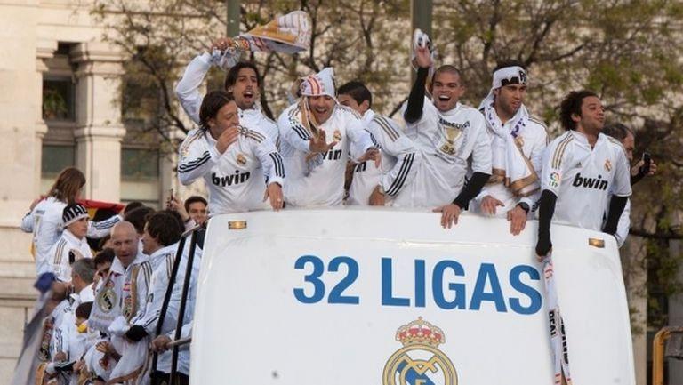 Цели 16-има играчи на Реал Мадрид не са ставали шампиони в Примера