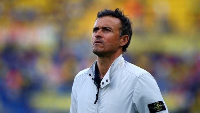 Луис Енрике: Вярвам на 100% в професионализма на всички треньори