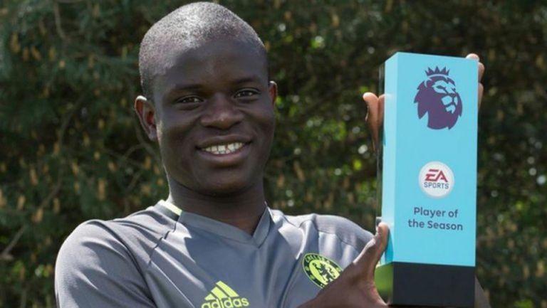 Канте избран Играч на сезона в Англия