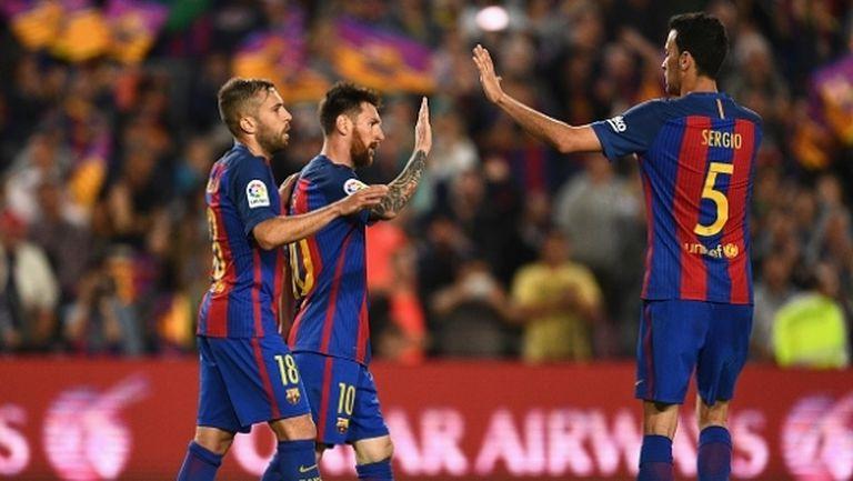 Барселона страда, но зарадва феновете си с утешителна победа (видео)
