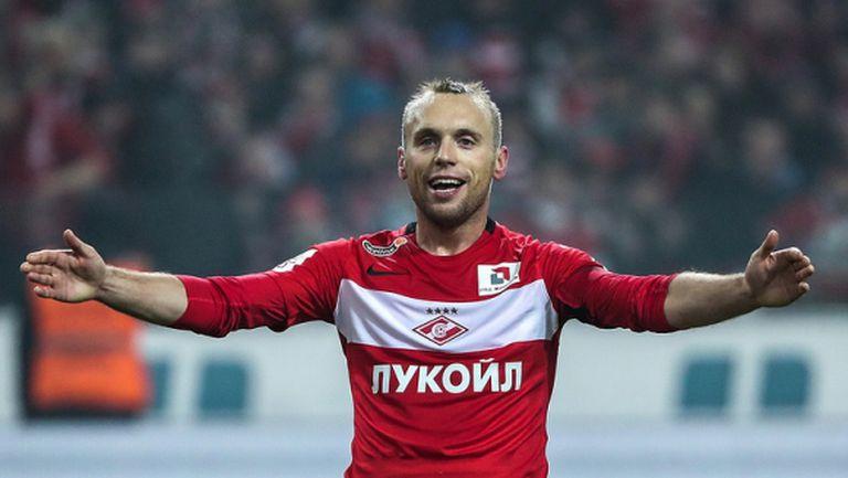 Полузащитник на Спартак (Москва) беше избран за играч номер 1 в Русия