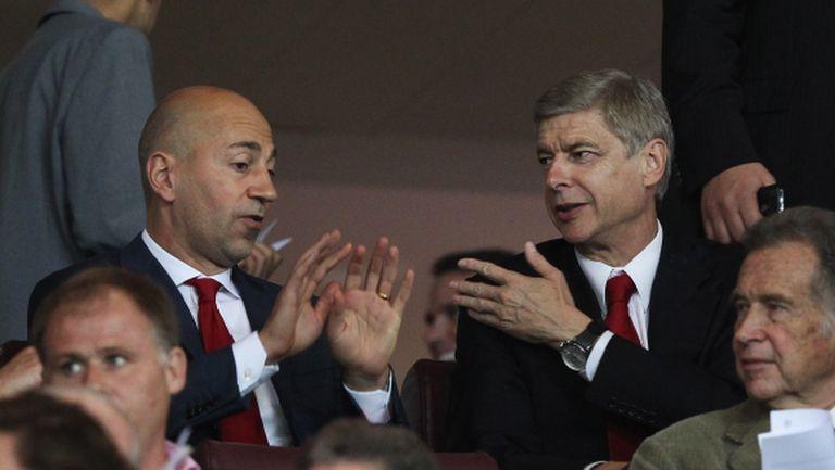 Шеф на Арсенал с писмо до служителите на клуба заради Венгер