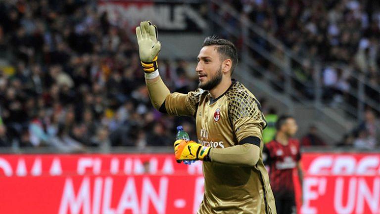 Милан вдигна двойно офертата към Донарума