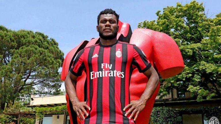 Милан представи новото си попълнение