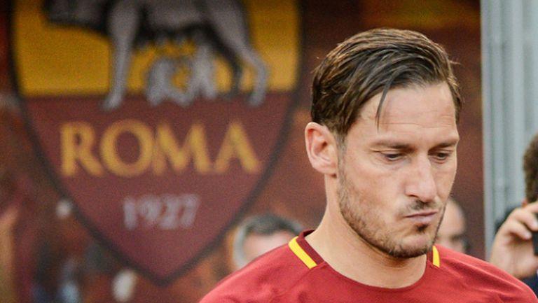 Рома предлага 6-годишен договор на Тоти