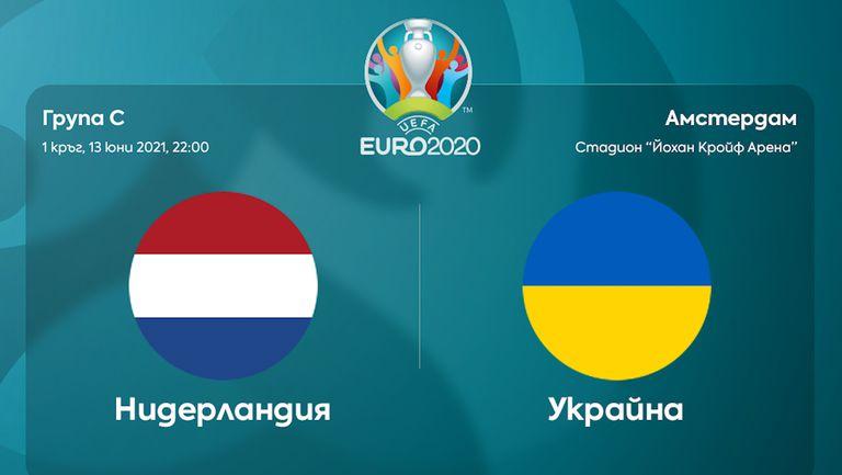 Преди двубоя Нидерландия - Украйна