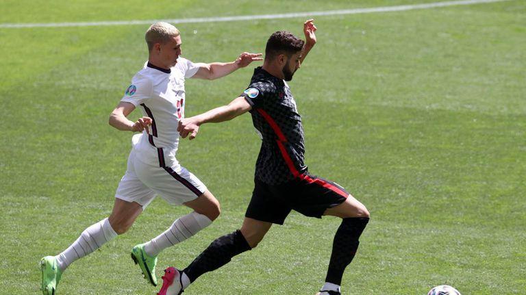 57' Англия - Хърватия 1:0