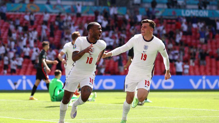 """Англия 1:0 Хърватия, Стърлинг даде преднина на """"трите лъва"""" (гледайте тук)"""