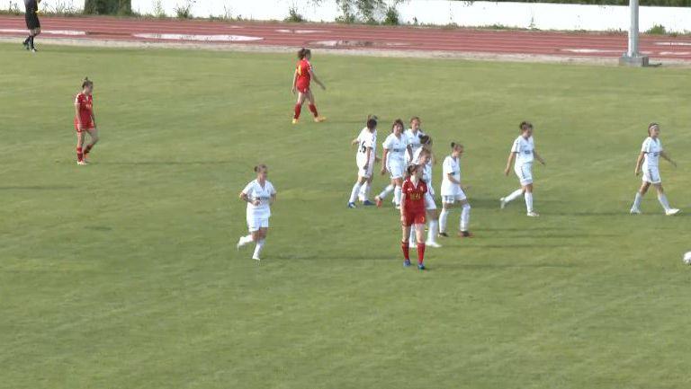 Антонина Шопска вкара втория гол във вратата на Риал