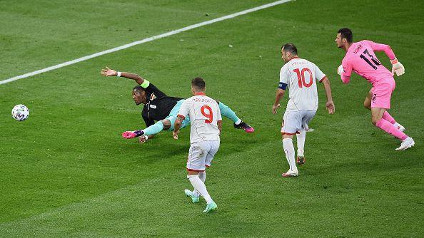 Опитният Горан Пандев бележи исторически първи гол на Европейски финали за Северна Македония