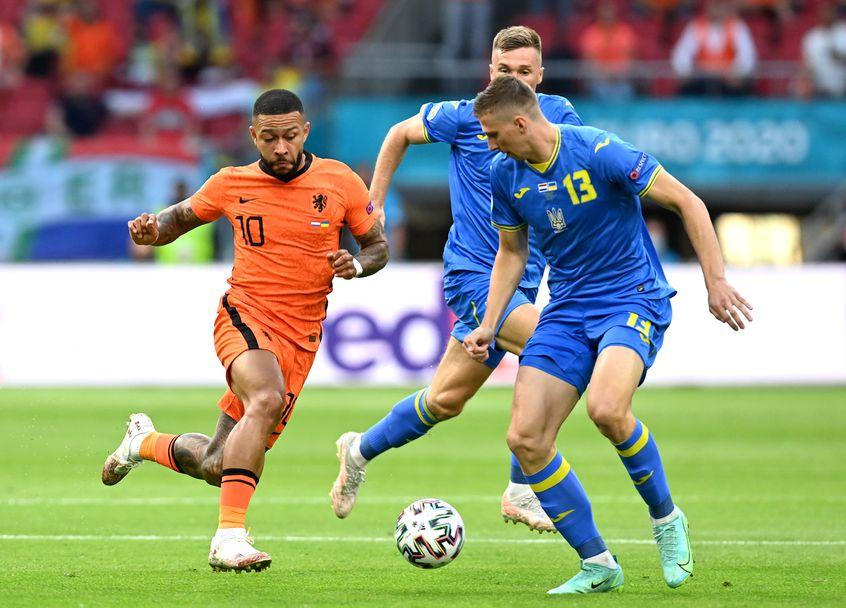 Нидерландия - Украйна 3:2