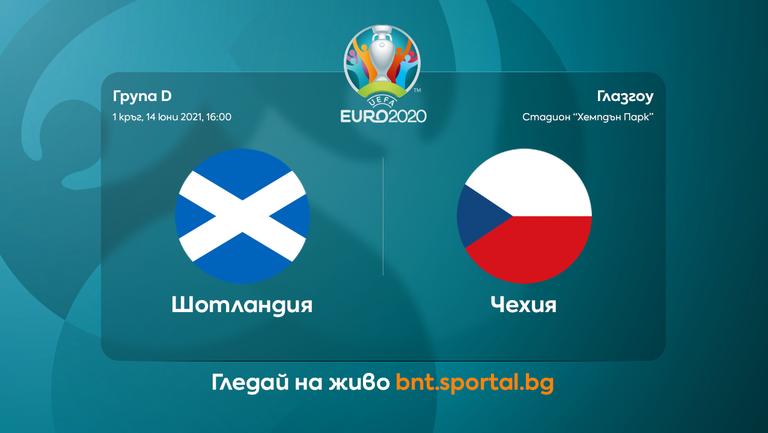 Шотландия излиза за успешен старт срещу Чехия