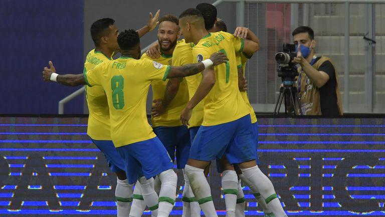 Бразилия тръгна мощно на Копа Америка🇧🇷⚽