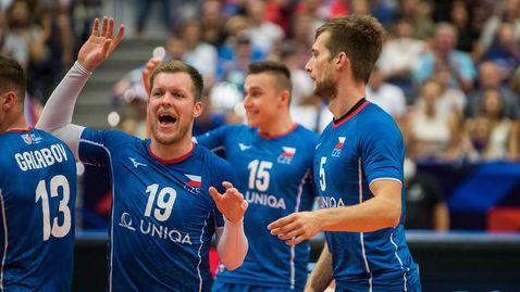 Чехия шокира и изхвърли олимпийските шампиони от Франция от Евроволей 2021🏐
