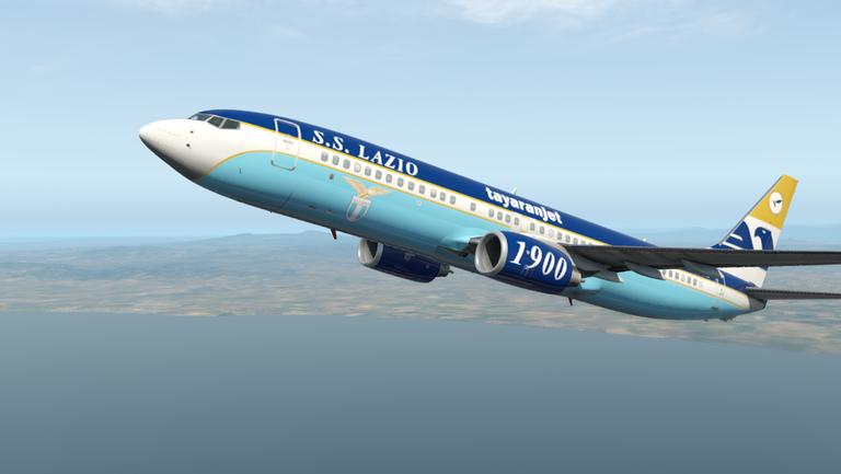 Лацио слиза от българския самолет