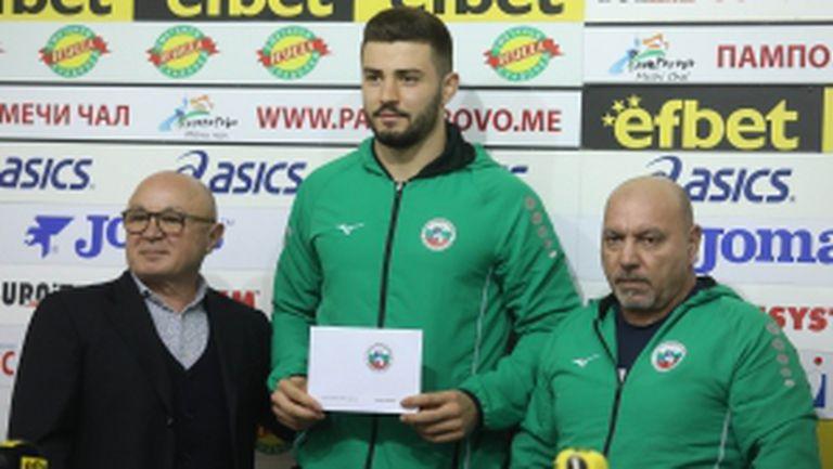 Борис Георгиев след сребърния медал от Големия шлем в Ташкент
