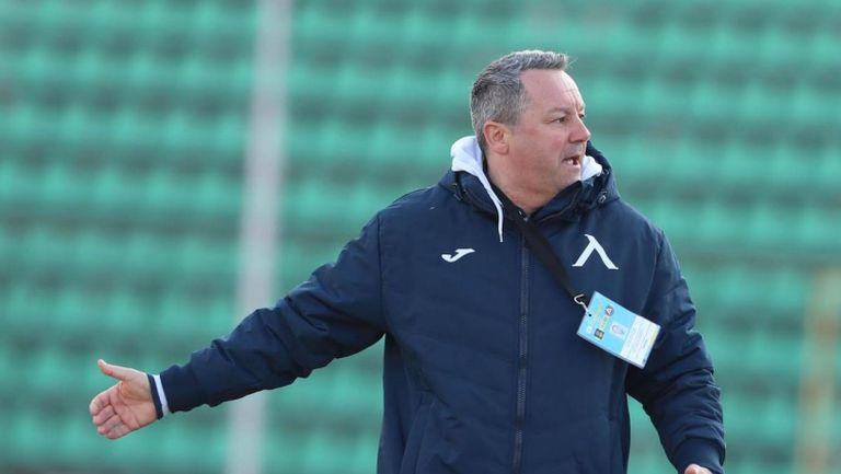 Славиша Стоянович: Доволен съм от реакцията на отбора през втората част