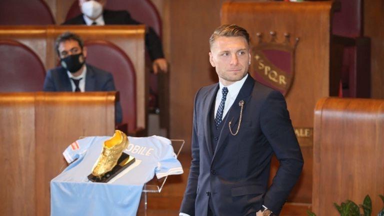 """Имобиле беше награден със """"Златната обувка"""""""