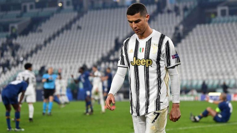 След 16 години: Роналдо не остави своя отпечатък в елиминациите на ШЛ