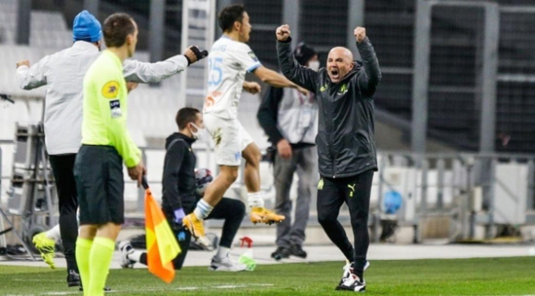 Сампаоли дебютира с победа начело на Марсилия (видео)