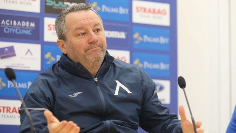 Стоянович: Предстои ни седмица на истината, в последния мач бяхме много зле