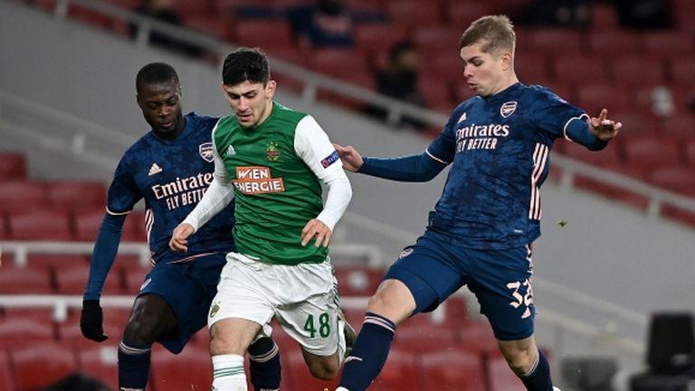 Барса ще влезе в битка с Ман Юнайтед, Ман Сити и Байерн за млад талант